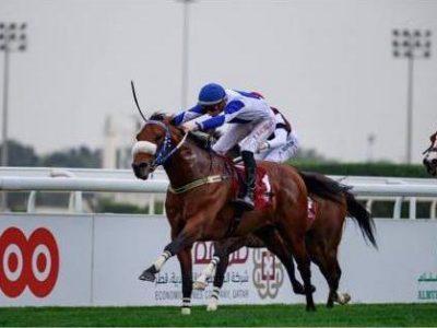ANIMA ROCK won the Dukhan Sprint in Doha