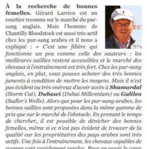 Gérard Larrieu: un courtier reconnu