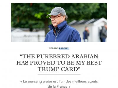 Confidences de Gérard Larrieu au JDG