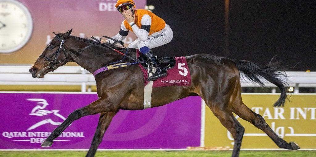 Helléniste gagnant du Qatar derby